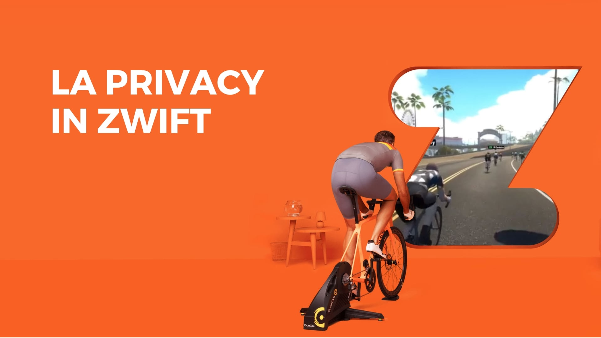 La privacy in Zwift