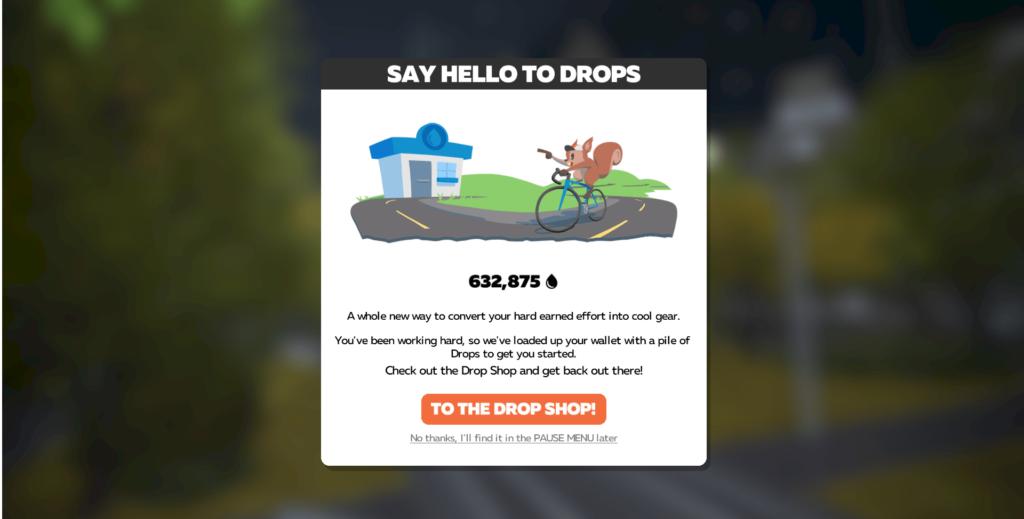 drops zwift