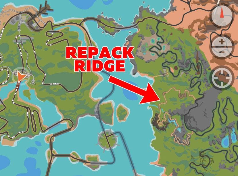 mappa repack ridge