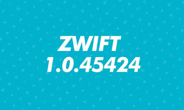 Aggiornamento 1.0.45424  di Zwift
