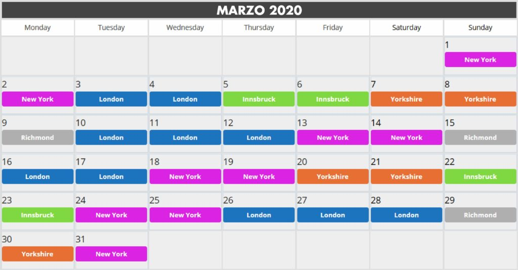 Guest world marzo 2020