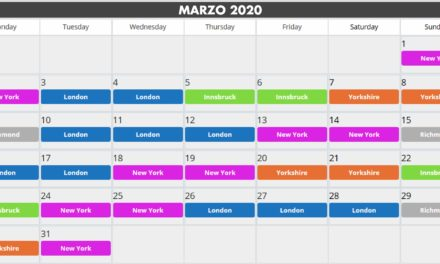 Calendario guest world zwift: marzo 2020