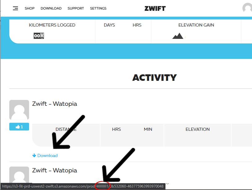 zwift ID