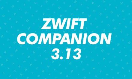 Rilascio Zwift Companion 3.13