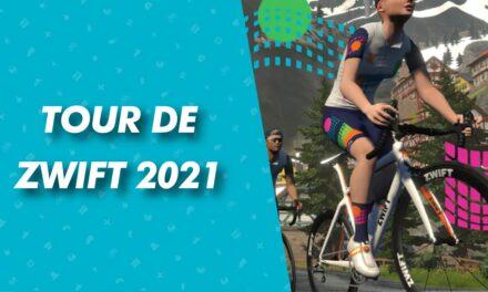 Annunciato il tour de zwift 2021!