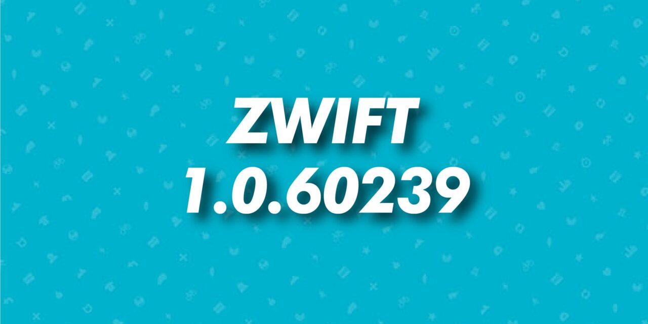 Aggiornamento 1.0.60239 di Zwift