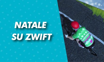 Anche su zwift e' aria di natale!