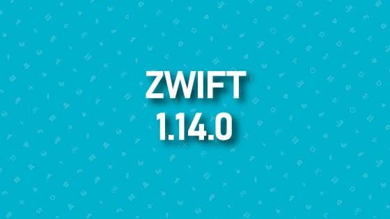 Aggiornamento Zwift 1.14.0